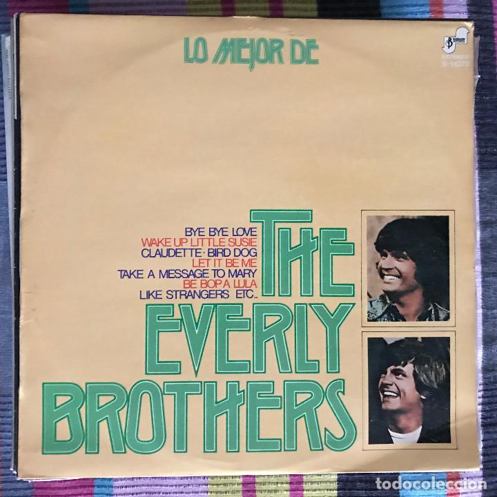 EVERLY BROTHERS - LO MEJOR DE - LP BARNABY 1974 SPAIN (Música - Discos - LP Vinilo - Rock & Roll)