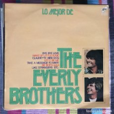 Discos de vinilo: EVERLY BROTHERS - LO MEJOR DE - LP BARNABY 1974 SPAIN. Lote 194504713