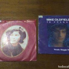 Discos de vinilo: LOTE - MIKE OLDFIELD- DOS SINGLES- EDICION ESPAÑOLA. Lote 194505563