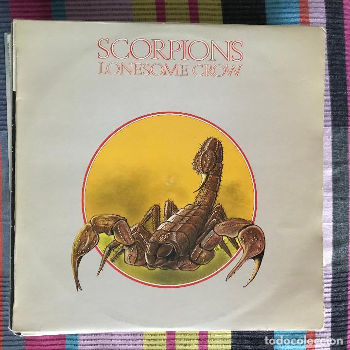 SCORPIONS - LONESOME CROW (1972) - LP VICTORIA SPAIN 1983 (Música - Discos - LP Vinilo - Heavy - Metal)