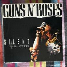 Discos de vinilo: GUNS N' ROSES - SILENT SHOTS - LP FLASHBACK - LIVE RITZ NY 1989. Lote 194506965