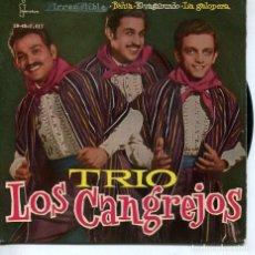 Discos de vinilo: TRIO LOS CANGREJOS / IRRESISTIBLE + 3 (EP 1961). Lote 194507668