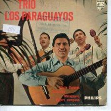Discos de vinilo: TRIO LOS PARAGUAYOS / MARIA DOLORES + 3 (EP HOLANDES). Lote 194507810
