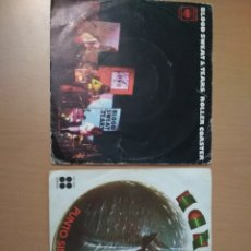 Discos de vinilo: LOTE 2 SINGLES, KANSAS Y BLOOD SWEAT & TEARS.. Lote 194508702
