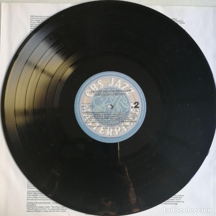 Discos de vinilo: Lambert, Hendricks & Ross – Everybodys Boppin, CBS 465199 1 - Foto 3 - 194509770