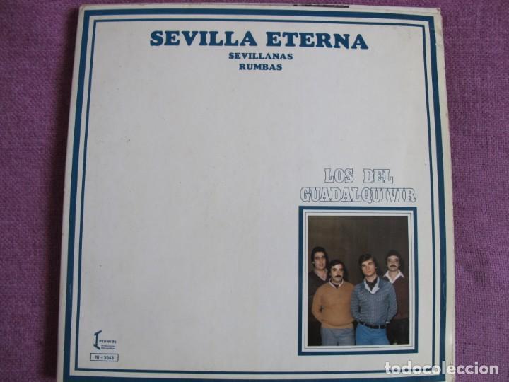 LP - SEVILLANAS - LOS DEL GUADALQUIVIR - SEVILLA ETERNA (SPAIN, IZQUIERDO 1981, PORTADA DOBLE) (Música - Discos - LP Vinilo - Flamenco, Canción española y Cuplé)