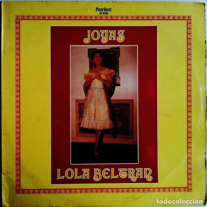 LOLA BELTRAN – JOYAS, PEERLESS CP 9298 (Música - Discos - LP Vinilo - Grupos y Solistas de latinoamérica)