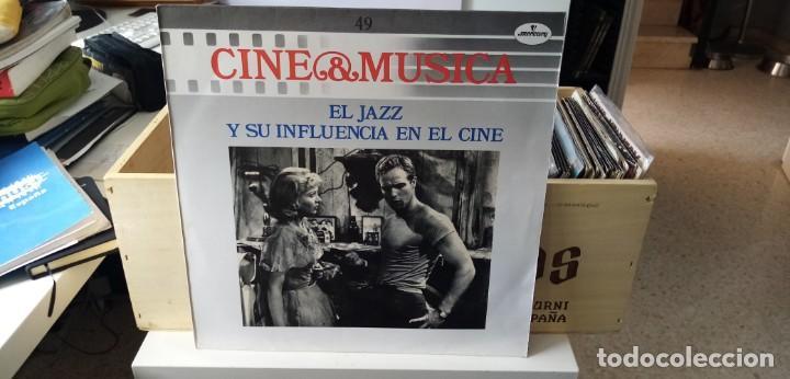 CINE & MÚSICA EL JAZZ Y SU INFLUENCIA EN EL CINE (Música - Discos - LP Vinilo - Bandas Sonoras y Música de Actores )