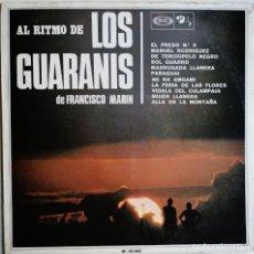 Discos de vinilo: LOS GUARANIS DE FRANCISCO MARIN – AL RITMO DE... SONOPLAY, BARCLAY M-18.062, M-18062. Lote 194510726