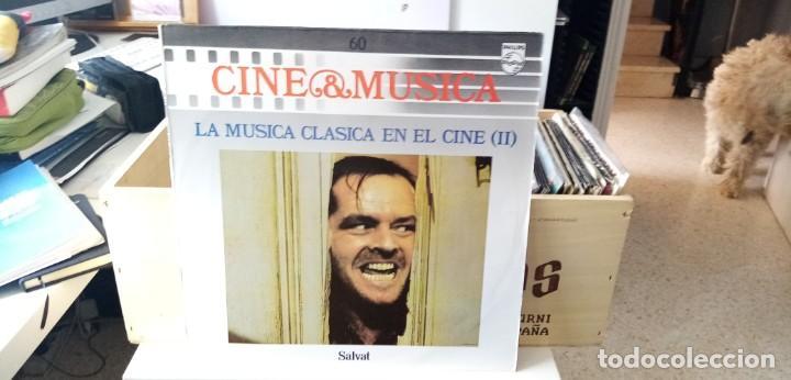 CINE & MÚSICA LA MÇUSICA CÁSICA EN EL CINE (II) (Música - Discos - LP Vinilo - Bandas Sonoras y Música de Actores )