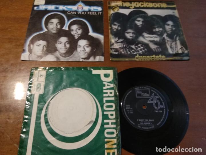 LOTE - THE JACKSON 5 - TRES SINGLES- (Música - Discos - Singles Vinilo - Funk, Soul y Black Music)
