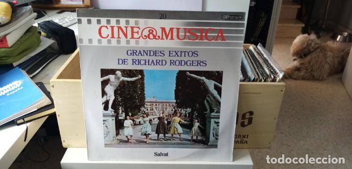CINE & MÚSICA GRANDES EXITOS DE RICHERD RODGERS (Música - Discos - LP Vinilo - Bandas Sonoras y Música de Actores )