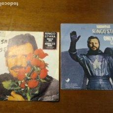 Discos de vinilo: LOTE RINGO STARR - DOS SINGLES - EDICION ESPAÑOLAS. Lote 194511510