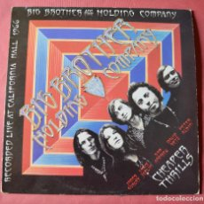 Discos de vinilo: BIG BROTHER & HOLDING COMPANY - JANIS JOPLIN - 1966. Lote 194511583