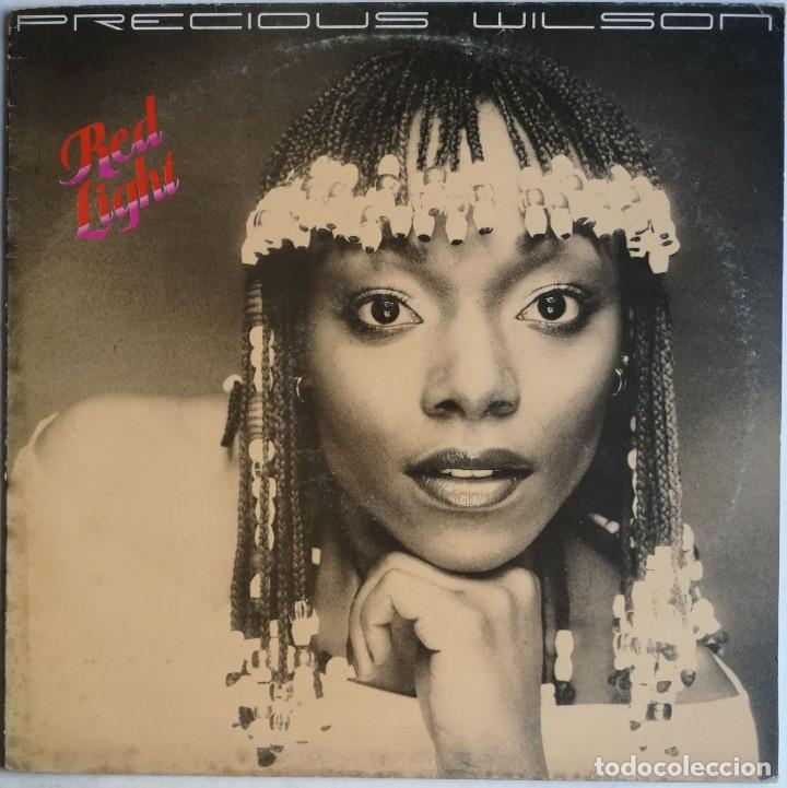Discos de vinilo: Precious Wilson – Red Light, Carrere CRE 25058 - Foto 2 - 194512306