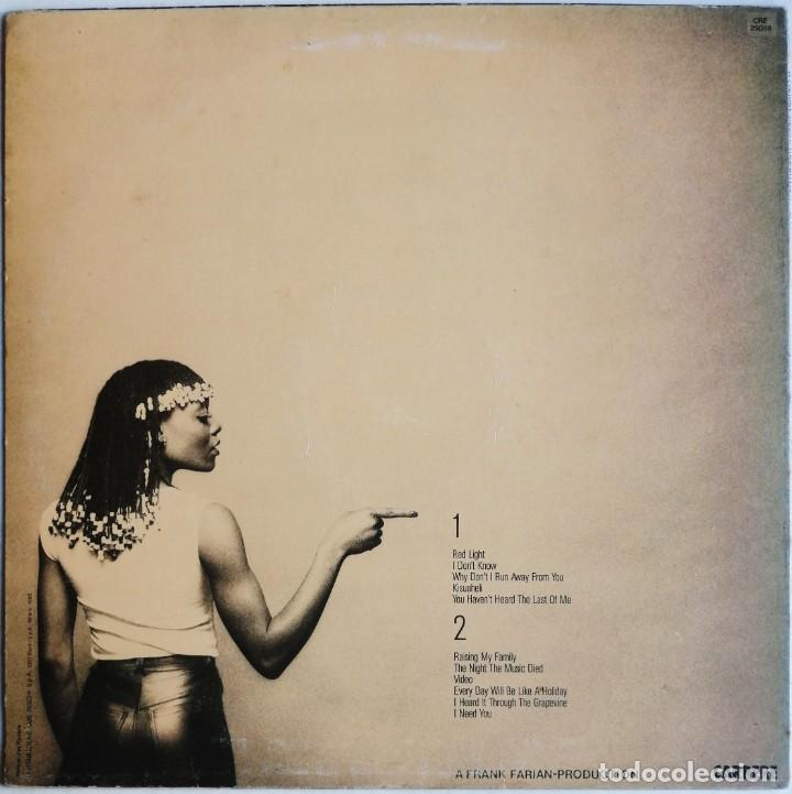 Discos de vinilo: Precious Wilson – Red Light, Carrere CRE 25058 - Foto 3 - 194512306