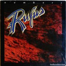 Discos de vinilo: RUFUS – NUMBERS, ABC RECORDS AA-1098. Lote 194512860