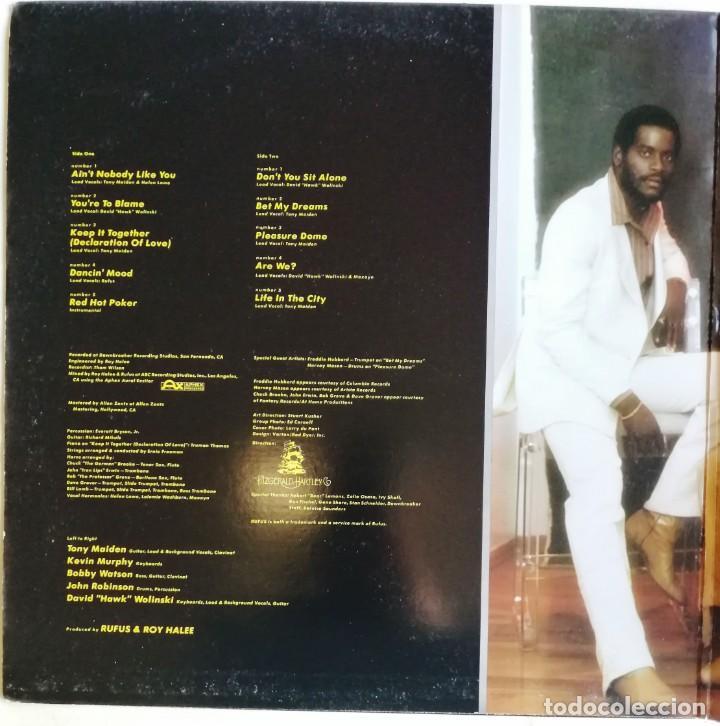 Discos de vinilo: Rufus – Numbers, ABC Records AA-1098 - Foto 2 - 194512860