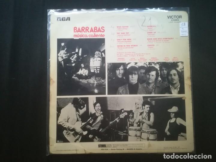 Discos de vinilo: BARRABAS - BARRABAS - Foto 2 - 194513208