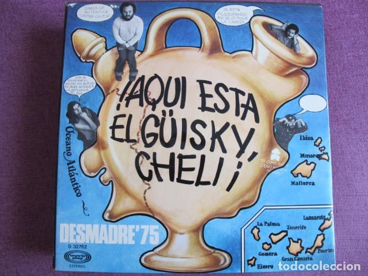 LP - DESMADRE 75 - AQUI ESTA EL GUISKY, CHELI (SPAIN, MOVIEPLAY 1975, PORTADA DOBLE) (Música - Discos - LP Vinilo - Grupos Españoles de los 70 y 80)