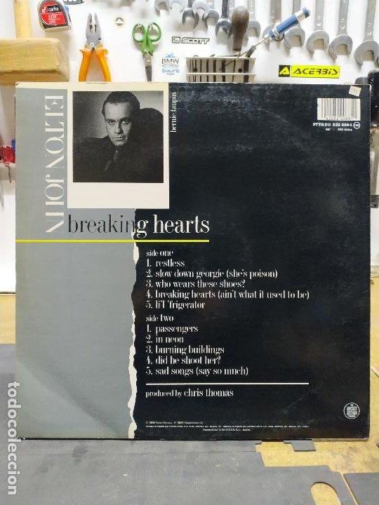 Discos de vinilo: ELTON YONG BREAKING HEARTS - Foto 2 - 194514288