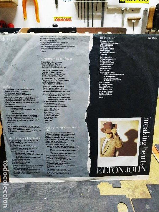 Discos de vinilo: ELTON YONG BREAKING HEARTS - Foto 5 - 194514288