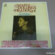 Discos de vinilo: MARIA DOLORES PRADERA (LP) MARIA DOLORES PRADERA AÑO – 1969. Lote 194514615