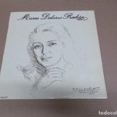 Discos de vinilo: MARIA DOLORES PRADERA (LP) MARIA DOLORES PRADERA AÑO – 1970. Lote 194514917