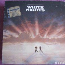 Discos de vinilo: LP - WHITE NIGHTS - VARIOS (ROBERT PLANT, LOU REED, PHIL COLLINS, ETC...) (SPAIN, ATLANTIC 1985). Lote 194515105