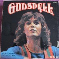 Discos de vinilo: LP - GODSPELL - VERSION ORIGINAL EN CASTELLANO (SPAIN, NOVOLA 1974, PORTADA DOBLE). Lote 194515277