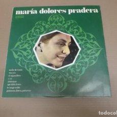 Discos de vinilo: MARIA DOLORES PRADERA (LP) MARIA DOLORES PRADERA AÑO – 1973 – EDICION CIRCULO DE LECTORES. Lote 194515318