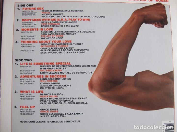 Discos de vinilo: LP - PUMPING IRON II, THE WOMEN - VARIOS (USA, ISLAND RECORDS 1989) - Foto 2 - 194515423
