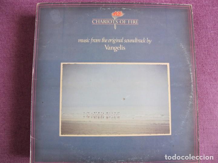 LP - VANGELIS - CHARIOT OF FIRE (SPAIN, POLYDOR 1981) (Música - Discos - LP Vinilo - Bandas Sonoras y Música de Actores )