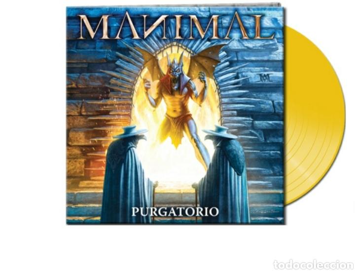 MANIMAL_PURGATORIO_EDICION 250 COPIAS COLOR AMARILLO_2018 PRECINTADO.JUDAS PRIEST,MAIDEN,SAXON, (Música - Discos - LP Vinilo - Heavy - Metal)