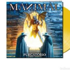 Discos de vinilo: MANIMAL_PURGATORIO_EDICION COLOR AMARILLO_2018 NUEVO .JUDAS PRIEST,MAIDEN,SAZÓN,. Lote 194516156