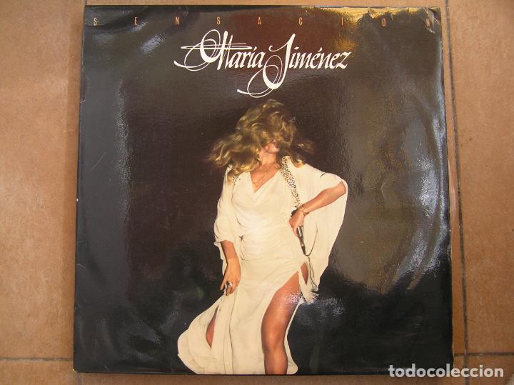 MARIA JIMENEZ - SENSACION - LP - PR (Música - Discos - LP Vinilo - Flamenco, Canción española y Cuplé)