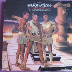 Discos de vinilo: LP - IMAGINATION - IN THE HEAT OF THE NIGHT (SPAIN, RED BUS RECORDS 1982). Lote 194517282
