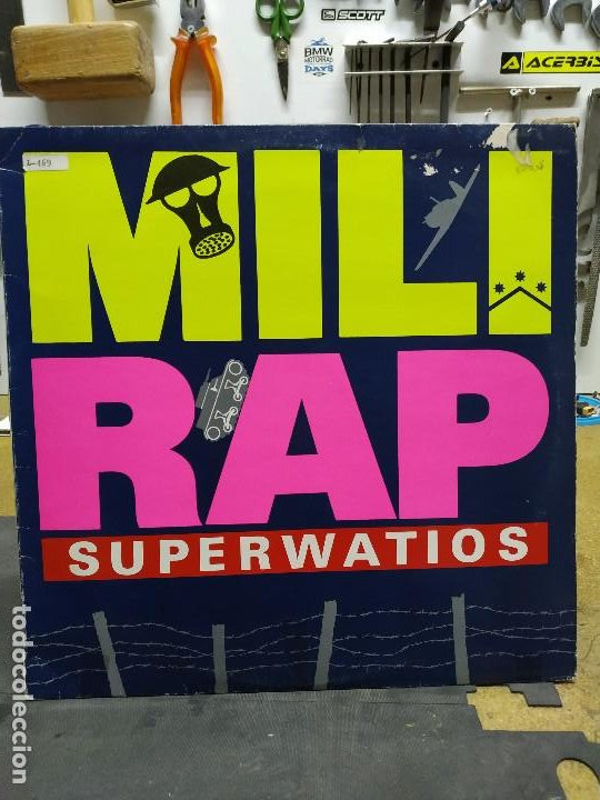 SUPERWATIOS MILI RAP (Música - Discos de Vinilo - Maxi Singles - Techno, Trance y House)