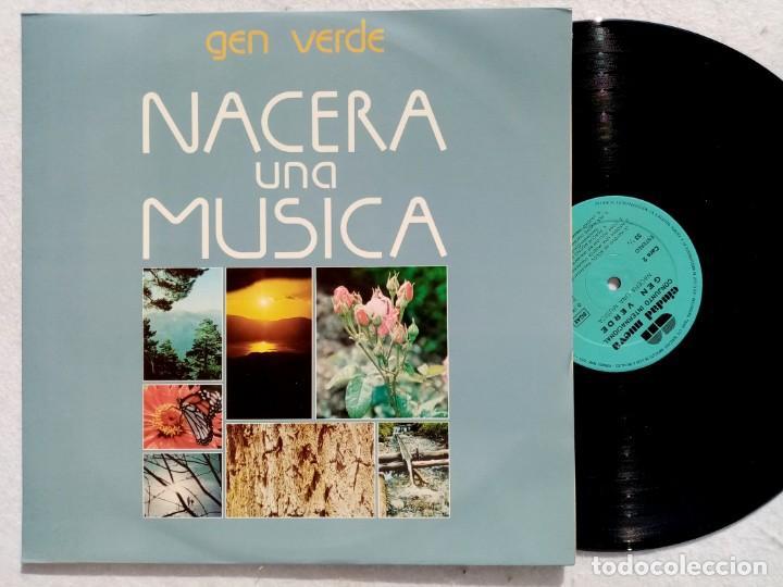 GEN VERDE - NACERA UNA MUSICA - LP 1980 - CIUDAD NUEVA (Música - Discos - LP Vinilo - Pop - Rock - New Wave Extranjero de los 80)