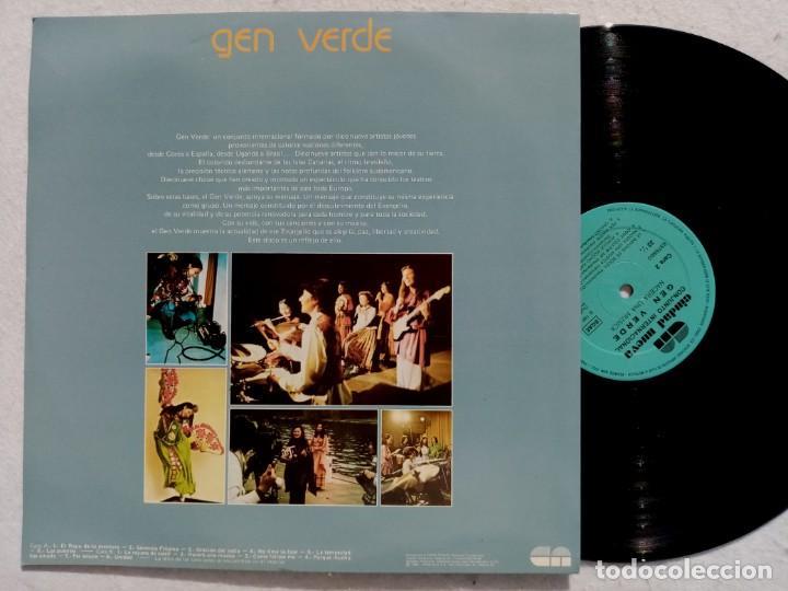 Discos de vinilo: GEN VERDE - nacera una musica - LP 1980 - CIUDAD NUEVA - Foto 2 - 194517575