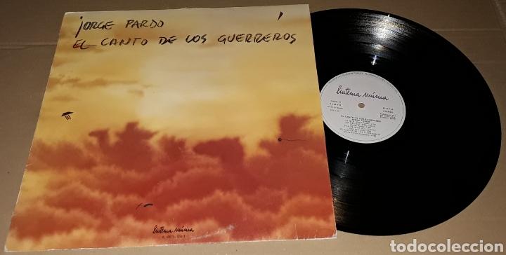 LP- JORGE PARDO - EL CANTO DE LOS GUERREROS - PACO DE LUCIA, CARLES BENAVENT,TOMATITO,PEPE DE LUCIA (Música - Discos - LP Vinilo - Jazz, Jazz-Rock, Blues y R&B)