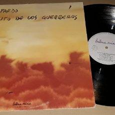 Discos de vinilo: LP- JORGE PARDO - EL CANTO DE LOS GUERREROS - PACO DE LUCIA, CARLES BENAVENT,TOMATITO,PEPE DE LUCIA. Lote 194517612