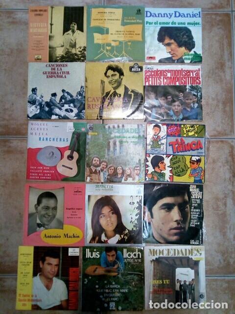 LOTE DE SINGLES DE GRUPOS/SOLISTAS DE LOS AÑOS 60/70 (Música - Discos - Singles Vinilo - Grupos Españoles 50 y 60)
