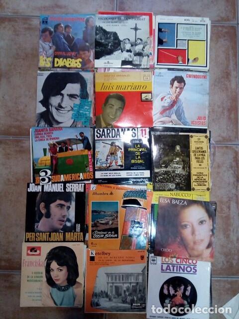 Discos de vinilo: Lote de singles de grupos/solistas de los años 60/70 - Foto 4 - 194517887