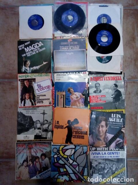 Discos de vinilo: Lote de singles de grupos/solistas de los años 60/70 - Foto 5 - 194517887