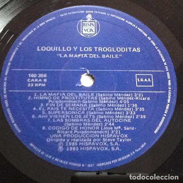 Discos de vinilo: Loquillo Y Trogloditas – La Mafia Del Baile -LP- - Foto 6 - 194518456