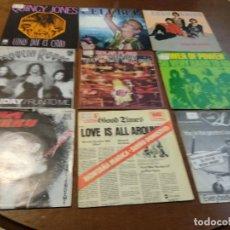 Discos de vinilo: LOTE- NUEVE SINGLES- SOUL FUNK DISCO-. Lote 194518867