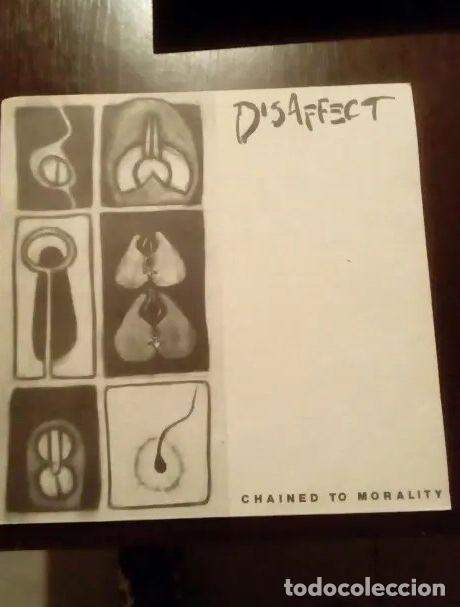 DISSAFECT. CHAINED TO MORALITY. (Música - Discos - LP Vinilo - Punk - Hard Core)