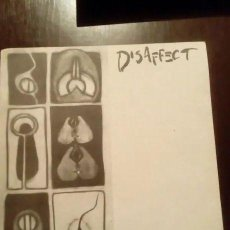 Discos de vinilo: DISSAFECT. CHAINED TO MORALITY. . Lote 194519282