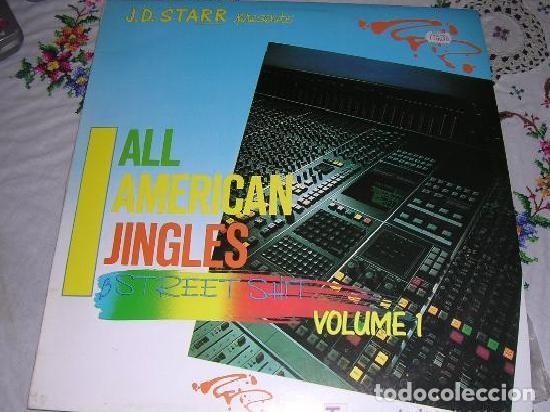 ALL AMERICAN JINGLES STREET SHIT VOLUME 1 (Música - Discos - LP Vinilo - Pop - Rock - New Wave Extranjero de los 80)